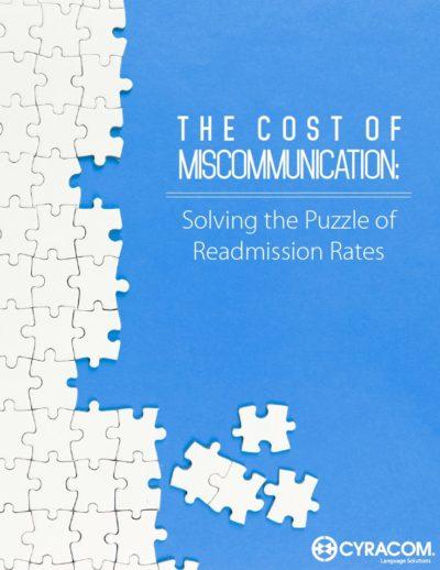 Reducing Readmission Rates CyraCom Whitepaper
