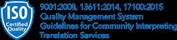 CyraCom ISO certifications