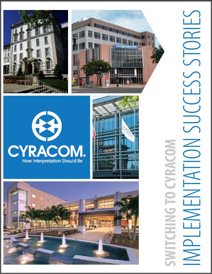 Implementation Success Stories CyraCom Case Study